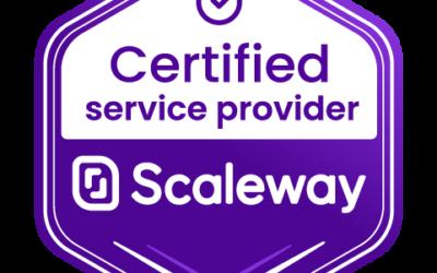 Scaleway nous renouvelle sa confiance